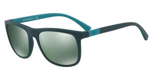 Emporio Armani EA4079 55006R LIGHT GREEN MIRROR PETROLMATTE GREEN