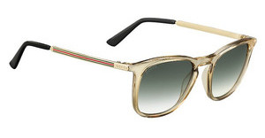 Gucci GG 1130/S VKW/9K GREEN SHADEDBEIGE GD (GREEN SHADED)