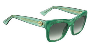 Gucci GG 3827/S VLO/9K GREEN SHADEDPEARL GRN