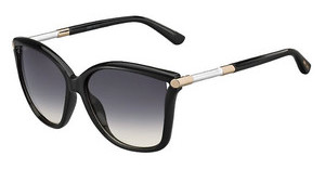 Jimmy Choo TATTI/S D28/9C GREYUNIFSHN BLACK