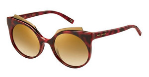 Marc Jacobs MARC 105/S N8S/7B BROWN SS BRZRED HVNA