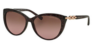Michael Kors MK2009 304014 BROWN ROSE GRADIENTPINK SPARKLE