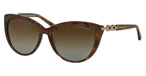 Michael Kors MK2009 4041T5 BROWN GRADIENT POLARIZEDBROWN SPARKLE