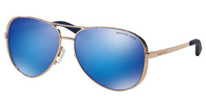 Michael Kors MK5004 100325 BLUE MIRRORROSE GOLD-TONE
