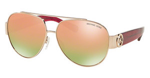 Michael Kors MK5012 10674Z PINK ORANGE MIRRORROSE GOLD/FUSCHIA GLITTER