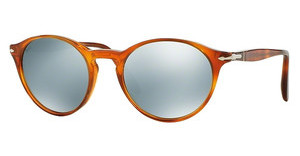 Persol PO3092SM 904130 LIGHT GREEN MIRROR SILVERTERRA DI SIENA