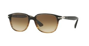 Persol PO3149S 102651 CLEAR GRADIENT BROWNBROWN/BROWN STRIPED
