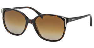 Prada PR 01OS 2AU6E1 POLAR BROWN GRADIENTHAVANA