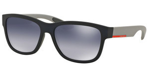 Prada Sport PS 03QS UR73A0 LIGHT GREY GRADIENT BLUEBLUE RUBBER