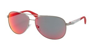 Prada Sport PS 51OS 5AS6Y1 RED MULTILAYERPEWTER DEMI SHINY
