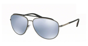 Prada Sport PS 55RS QFP5Q0 BLUE MIRROR WHITEGREY/STEEL RUBBER