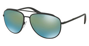 Prada Sport PS 55RS TIG4J2 MIRROR GREENGREY RUBBER
