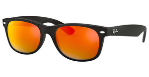 Ray-Ban RB2132 622/69 BROWN MIRROR REDRUBBER BLACK