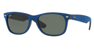 Ray-Ban RB2132 6239 GREENBLACK/TOP BLUE ALCANTARA