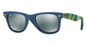 Ray-Ban RB2140 606140 GREY SILVER MIRRORMATTE BLUE