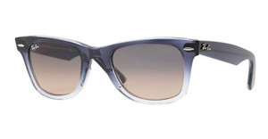Ray-Ban RB2140 822/N1 CRYSTAL GREY GRADIENT PINKBLUE GRADIENT ON TRANSPARENT