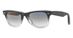 Ray-Ban RB2140 823/32 CRYSTAL GREY GRADIENTGRAY GRADIENT ON TRANSPARENT