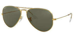 Ray-Ban RB3025 001/58 CRYSTAL GREEN POLARIZEDGOLD