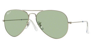 Ray-Ban RB3025 019/O5 POLAR GREENMATTE SILVER