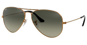 Ray-Ban RB3025 197/71 LIGHT GREY GRADIENT DARK GREYSHINY BRONZE