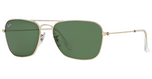 Ray-Ban RB3136 001 CRYSTAL GREENARISTA