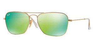 Ray-Ban RB3136 112/19 GREY MIRROR GREENMATTE GOLD