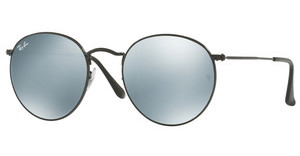Ray-Ban RB3447 002/30 LIGHT GREEN MIRROR SILVERBLACK