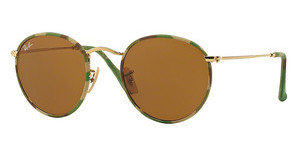 Ray-Ban RB3447JM 169 BROWNCAMOUFLAGE GREEN/BEIGE