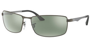 Ray-Ban RB3498 029/Y4 DARK BROWN MIRROR ORANGE POLARMATTE GUNMETAL