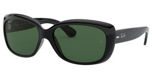 Ray-Ban RB4101 601/58 CRYSTAL GREEN POLARIZEDBLACK
