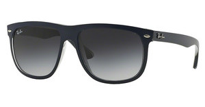 Ray-Ban RB4147 61328G GREY GRADIENT DARK GREYTOP MAT BLUE ON GREY TRASPAREN