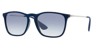 Ray-Ban RB4187 631719 CLEAR GRADIENT LIGHT BLUESHINY BLU MIRROR BLU