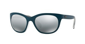 Ray-Ban RB4216 619188 GREY MIRROR SILVER GRADIENTMATTE PETROLEUM/GREY