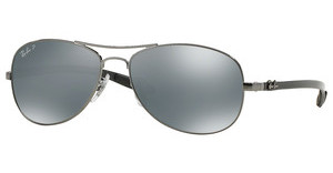 Ray-Ban RB8301 004/K6 BLUE MIRROR SILVER POLARSHINY GUNMETAL