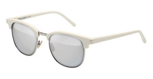 Saint Laurent SL 108 SURF 002 SILVERIVORY