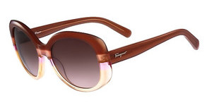 Salvatore Ferragamo SF793S 225 RUST-PEACH