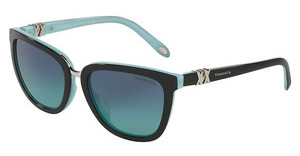 Tiffany TF4123 80559S BLUE GRADIENTBLACK/BLUE
