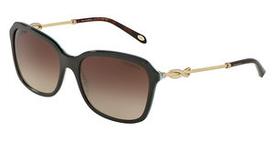 Tiffany TF4128B 82173B BROWN GRADIENTHAVANA/STRIPED BLUE