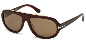 Tom Ford FT0444 54J roviexhavanna rot