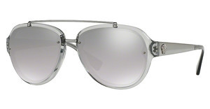 Versace VE4327 52066V LIGHT GREY MIRROR GRAD SILVERTRANSPARENT GREY