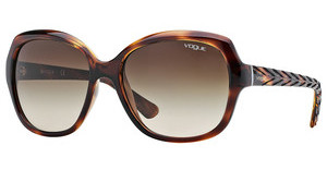 Vogue VO2871S 150813 BROWN GRADIENTSTRIPED DARK HAVANA