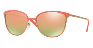 Vogue VO4002S 50224Z GREY MIRROR ROSE GOLDMATTE CORAL/PINK GOLD