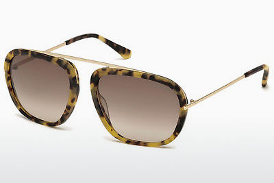 Güneş gözlüğü Tom Ford Johnson (FT0453 53F) - Havana rengi, Yellow, Blond, Brown