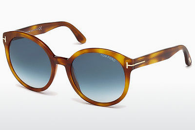 Güneş gözlüğü Tom Ford Philippa (FT0503 53W) - Havana rengi, Yellow, Blond, Brown