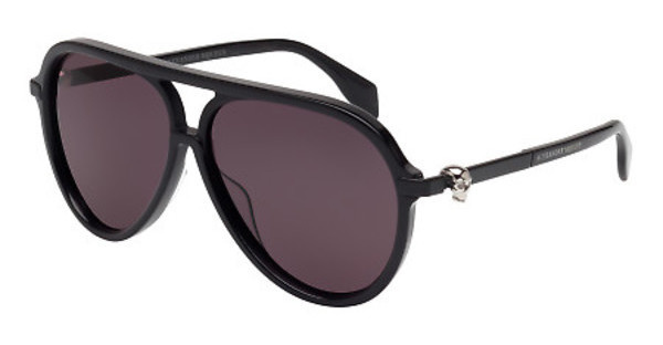 Alexander McQueen AM0020S 001 SMOKEBLACK, BLACK