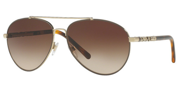 Burberry BE3089 114513 BROWN GRADIENTLIGHT GOLD