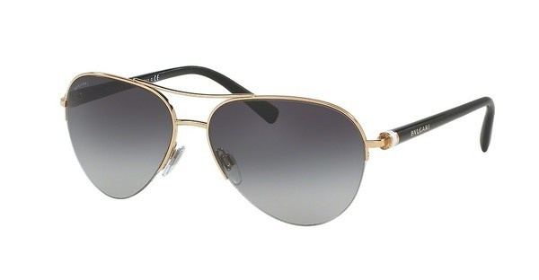 Bvlgari BV6084 20148G GREY GRADIENTPINK GOLD