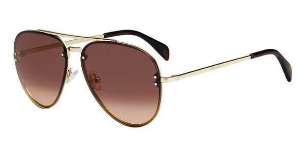 Céline CL 41392/S J5G/US BROWN DEGRADE'GOLD
