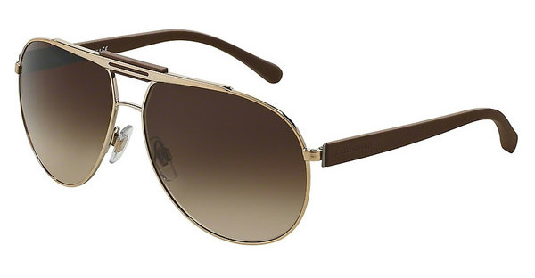 Dolce & Gabbana DG2119 119013 BROWN GRADIENTPALE GOLD