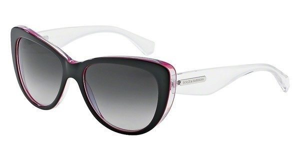 Dolce & Gabbana DG4221 27948G GREY GRADIENTBLACK/PERAL FUXIA/CRYST